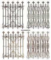 decorative fences by Lyotta