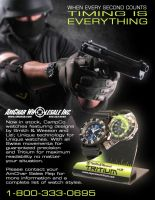 Smith and Wesson Watches by Blaq-Unicorn