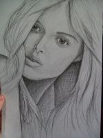 drawing woman by Nero-DLS