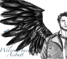 Welcome back Cas! by SonicalConverse