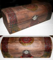 Celtic Wand Box by McGovernArts