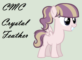 MLP Next Gen Ref: Crystal Feather by OtakuChicky1