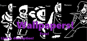 Free Wallpaper's! (Link in Description!) by catcupcake