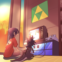 old skool game-ing by phation