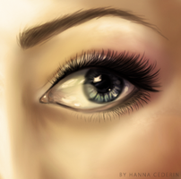 A simple eye by Cederin