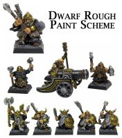 Dwarf Paint Scheme by Proiteus