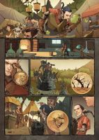 WEIRDING WILLOWS Page 5 Color JESSICA KHOLINNE by DeevElliott