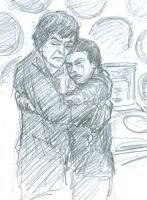 Second Doctor and Martha Jones by infiniteviking