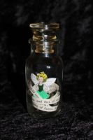 Tinkerbell Jar Book Sculpture by wetcanvas