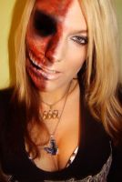 zombie makeup play by Nikky-VIIX