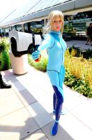 Otakon 2011 Samus by DarkGyraen