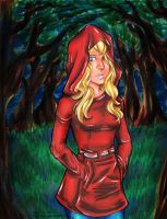 Red Coat by TrippinDippy