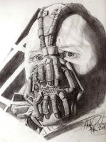 Bane Tom Hardy by The-Art-Kid