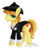 Commission - Groomsman Braeburn by PaintedHoofprints