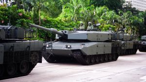 SAF Leopard 2A4 MBTs by Shooter1970