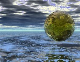 -:- floating orb by notrightyet