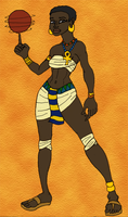 Sekhotep Goes Casual by BrandonSPilcher