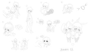 Sketch Dump Thing by Zitara11