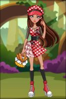 Ever After High: Enchanted Picnic ~ Cerise Hood by MiniatureBlueOwl