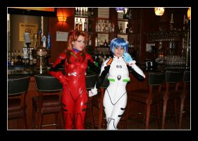 Ohayocon 2007: Asuka and Rei by xpansis
