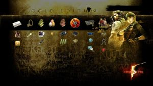 Resident Evil 5 Gold PS3 Theme by T-Vairus