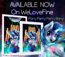 Print Available!  Pony Party Party Pony by Tsitra360