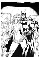 Batman and sirens by Leomatos2014