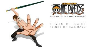 One Piece OC: Elris D. Bane by vonmatrix5000