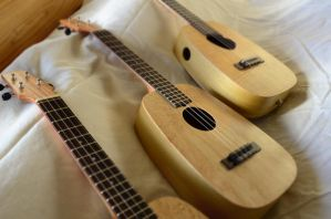 3 tenors - Not THE 3 tenors, just 3 tenors by thehappyukulele