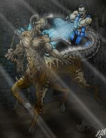 Sub-Zero VS Motaro by thorup