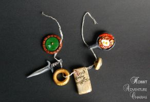 Hobbit Adventure Charms - chain by theandro
