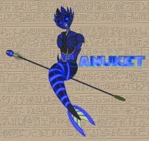 Primes of Egypt: Anuket by Xelku9