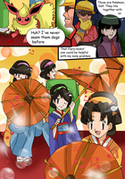commission13 new comic for zefrenchm by hikariangelove