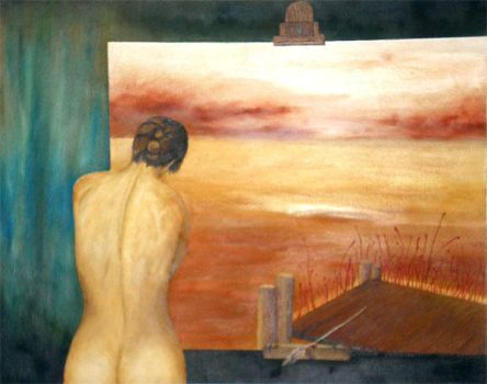 Old oil painting 3 by Tomon