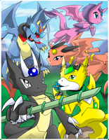 Dragonbright poster by AyaAkuisamu