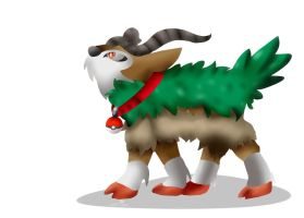 Jiffy the Gogoat (Speedpaint) by dreamer-the-wolf-3