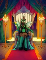 Queen of the Changelings by Ms-Seven0