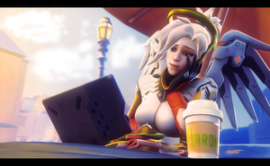 Morning Illios Mercy by Craxytavi