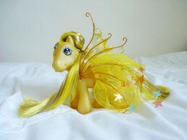 custom my little pony tattered star 2 by thebluemaiden