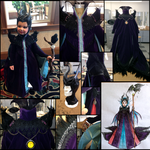 Maleficent Costume Comp. Card by Rashon02