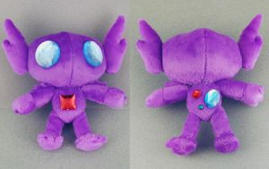 Sableye Plush by Patchwork-Shark