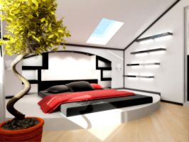 Penthouse bedroom part 0 by rOSTyk