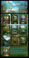 Garden Of Eden backgrounds by moonchild-ljilja