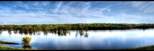 HDR Flooding Rver by lost-remains