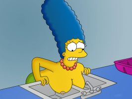 Marge simpson' boobs by uitob