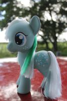 My Little Pony G4zilla custom Ice Crystal by TiellaNicole