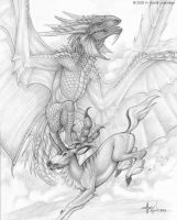 Dragons Hunt by kyoht