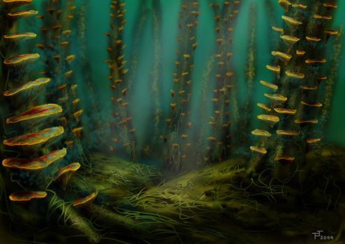 Sporeshroud Forest by SanityCleaver
