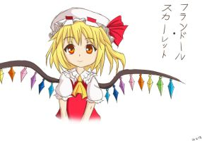 Flandre Scarlet by Lucky-Sonic-77-d