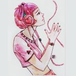 Galaxy Headphones ~PINK VERSION~ by meriimerodii